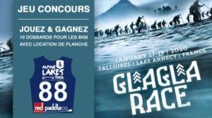 Gagnez 10 dossards pour la GlaGla Race 2020