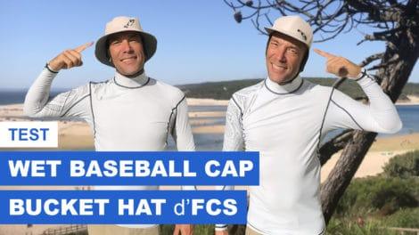 Test Wet Baseball Cap & Wet Bucket Hat d'FCS