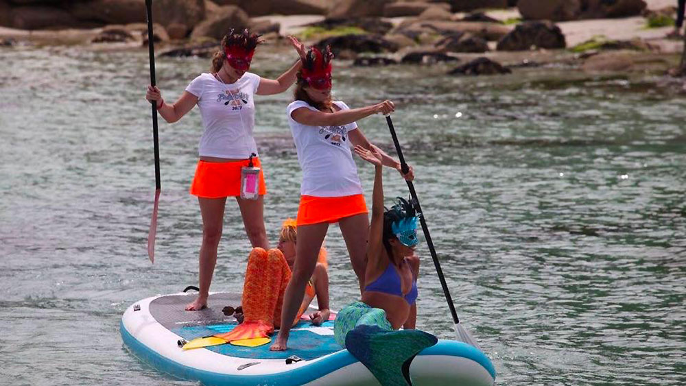 Sup Addict,  stand up paddle en Bretagne avec Vanessa