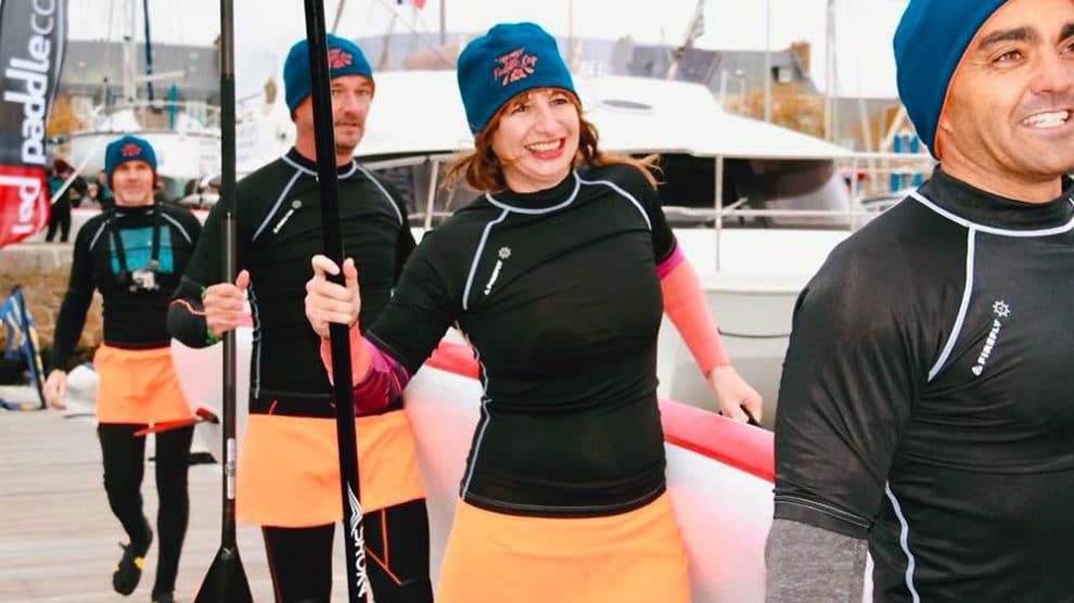 Sup Addict, stand up paddle en Bretagne avec Vanessa