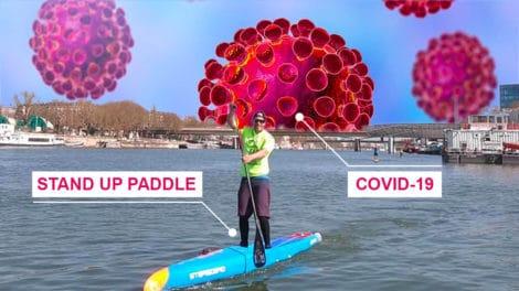 Stand up paddle et Coronavirus