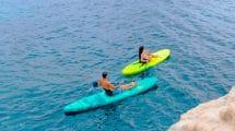 Le paddle kayak gonflable par Aquatone