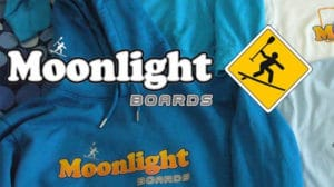 Moonlight Boards t-shirts stand up paddle