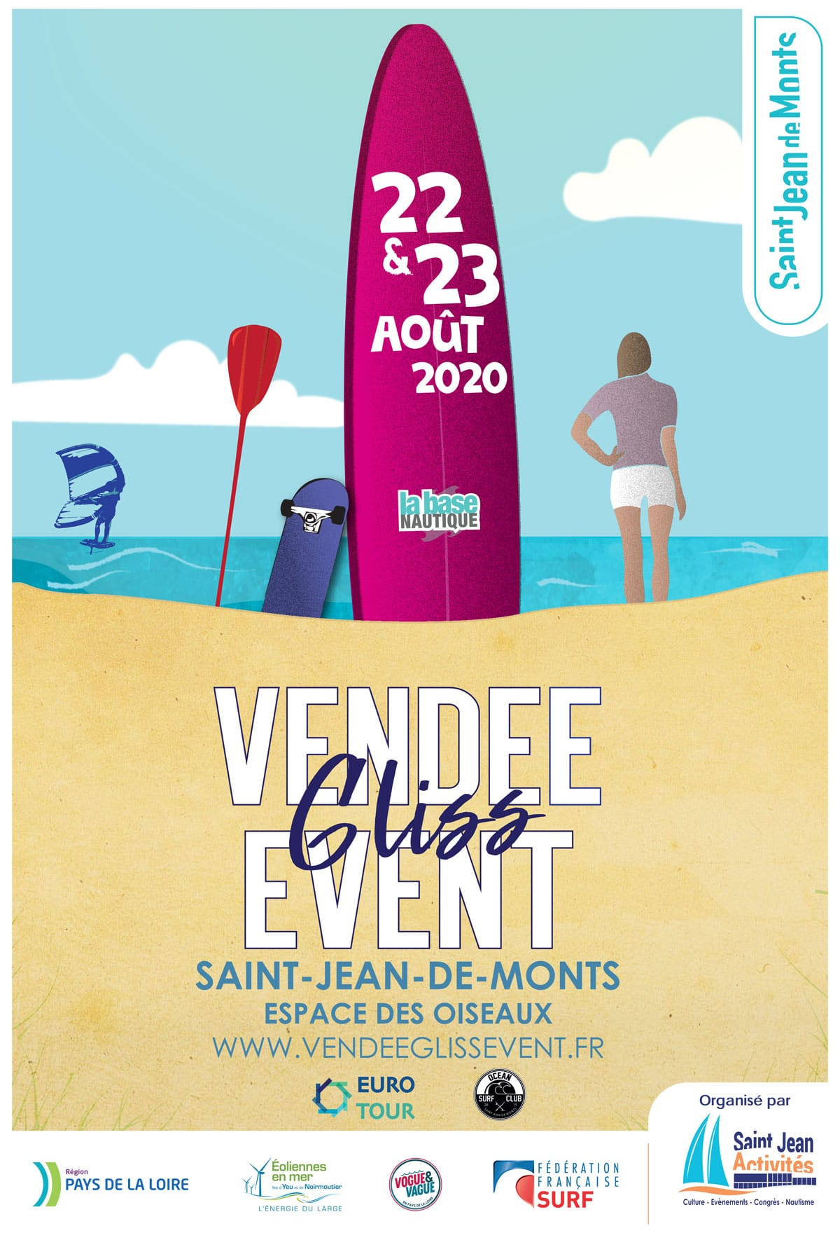 Vendée Gliss 2020 Eurotour