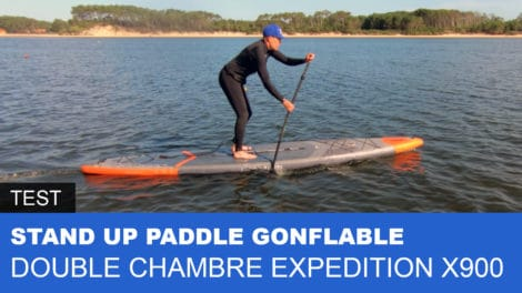 Paddle gonflable 14' Decathlon Expédition X900