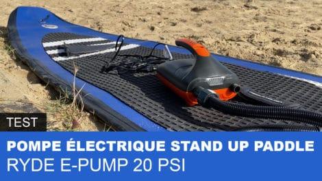 Pompe électrique 20Psi Ryde E-Pump