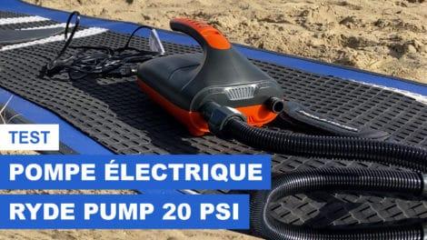 Pompe électrique 20 Psi Ryde E-Pump