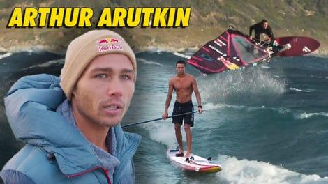 Arthur Arutkin, profession waterman