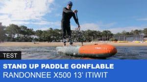Paddle gonflable 13' Decathlon Randonnée X500