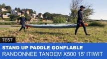 Paddle gonflable tandem 15' Decathlon
