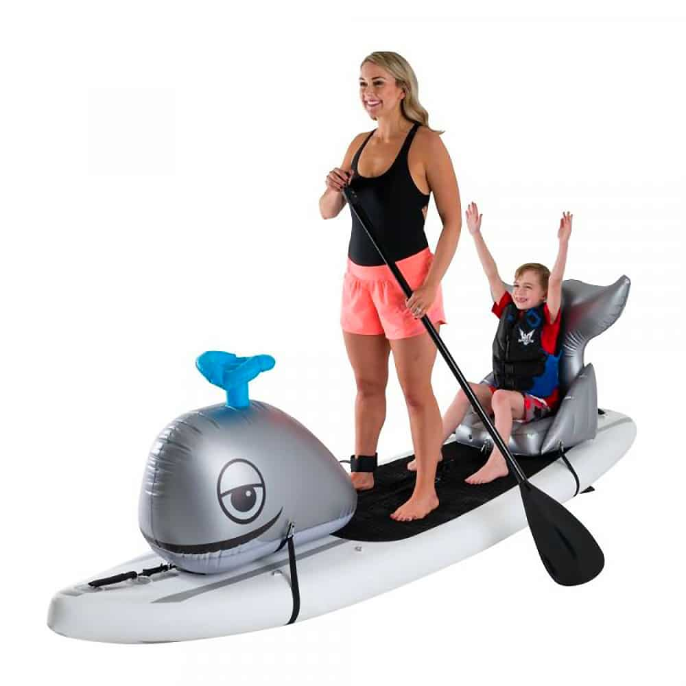 Animaux gonflables baleine paddle