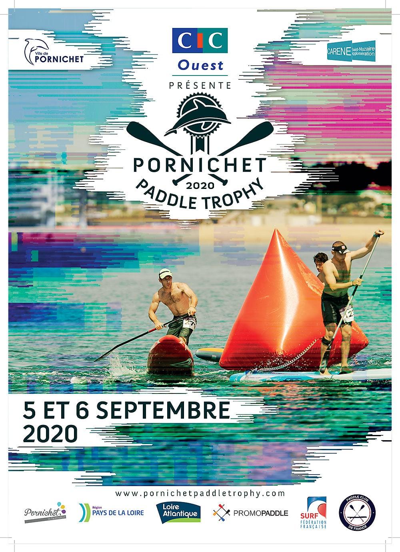 pornichet paddle trophy affiche
