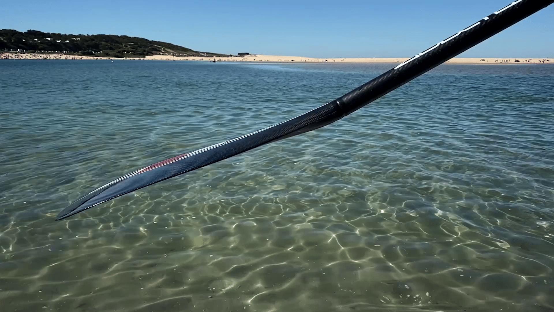 sens de la pagaie de paddle