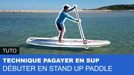 Comment pagayer ou ramer en stand up paddle ?