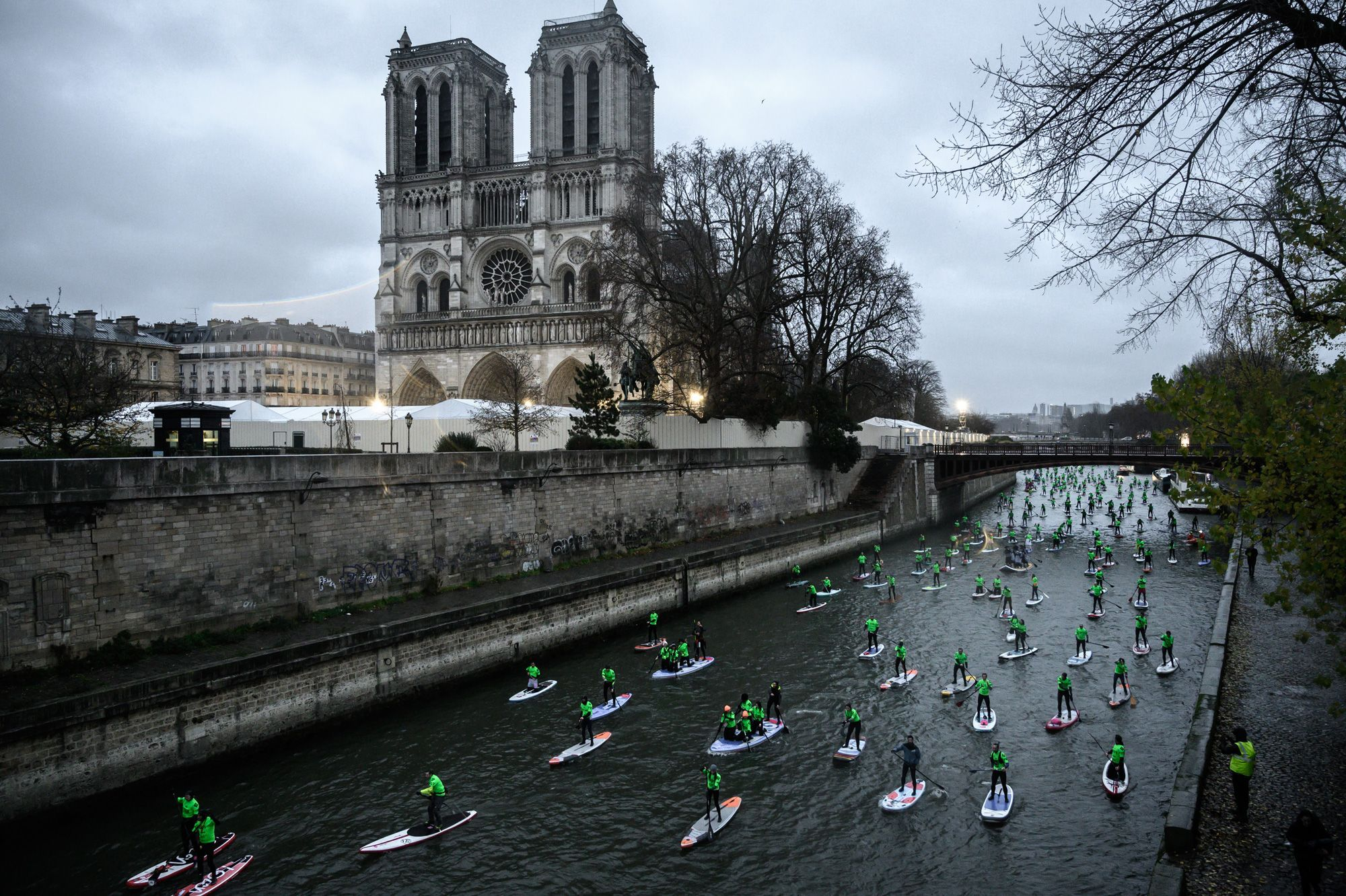 Stand up paddle aux JO de Paris 2024
