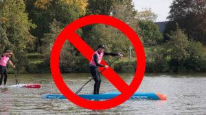 Activités nautiques interdites pendant le confinement !