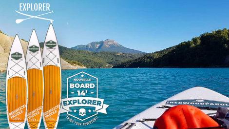 Paddle gonflable Explorer Redwoodpaddle