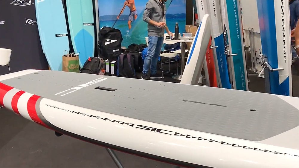 Sup foil Sic Marlin, bien plus qu'un stand up paddle