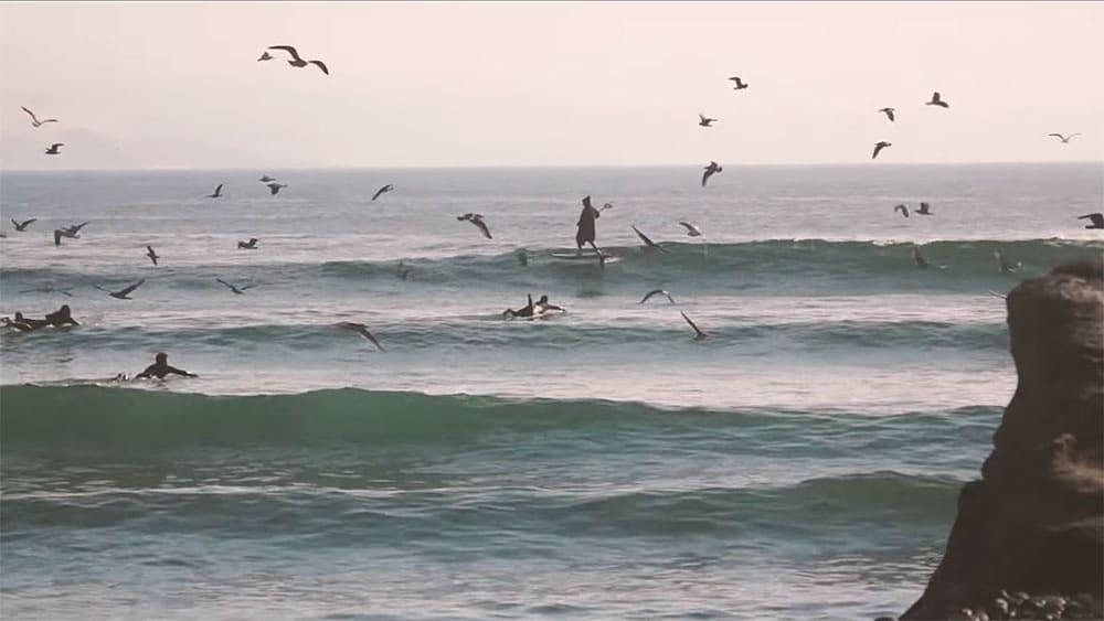Les vagues d'Agadir sont très célèbres