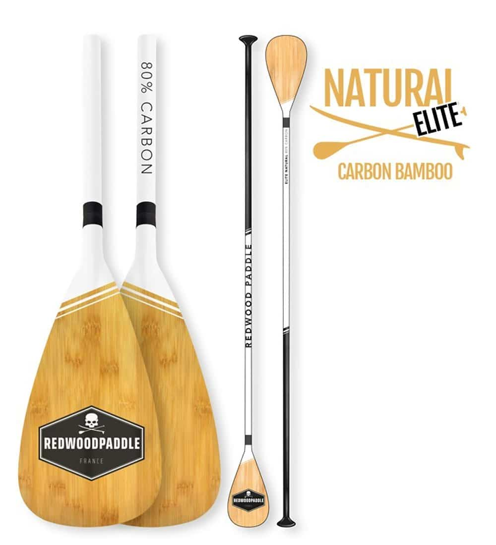 Pagaie Elite natural Bamboo
