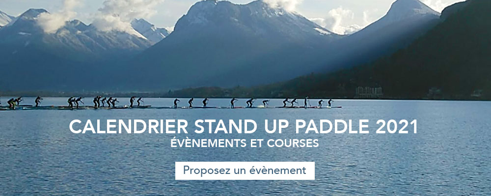 calendrier evenement course stand up paddle
