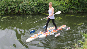 Floatski, le cousin du Sup