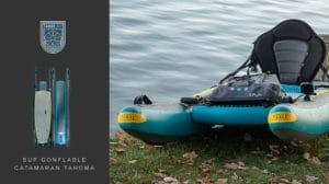 Sup gonflable Catamaran Tahoma made in USA