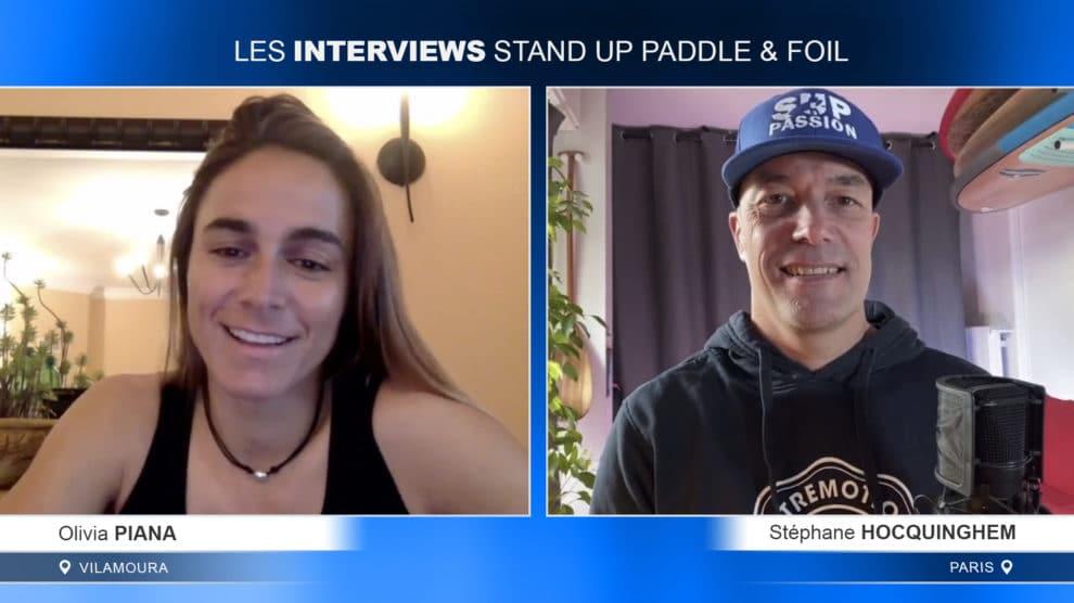 Interview de la championne Olivia Piana