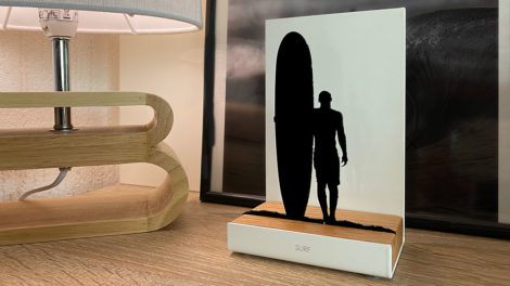 Figurine surf Cultural Memories