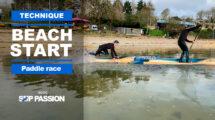 Comment faire un Beach Start en SUP Race ?