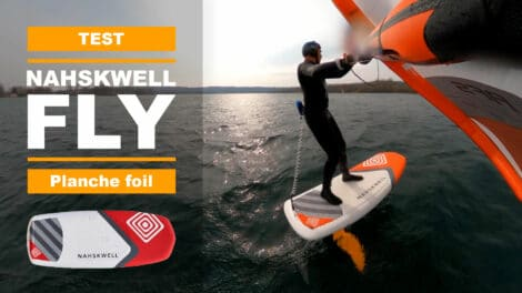 Sup Foil et Wing Foil Nahskwell Fly 5'10