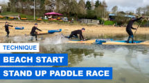 Comment faire un Beach Start en SUP Race ?