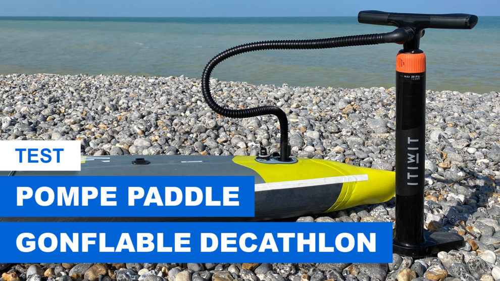 Nouvelle pompe Itiwit stand up paddle decathlon