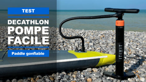 Nouvelle pompe Itiwit SUP de Decathlon