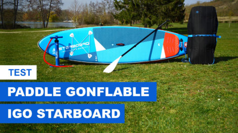 Paddle gonflable Starboard Igo 10'8
