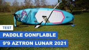 Paddle gonflable Lunar 9'9 Aztron
