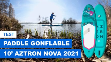 Paddle gonflable Lunar 9'9 Aztron - 2021