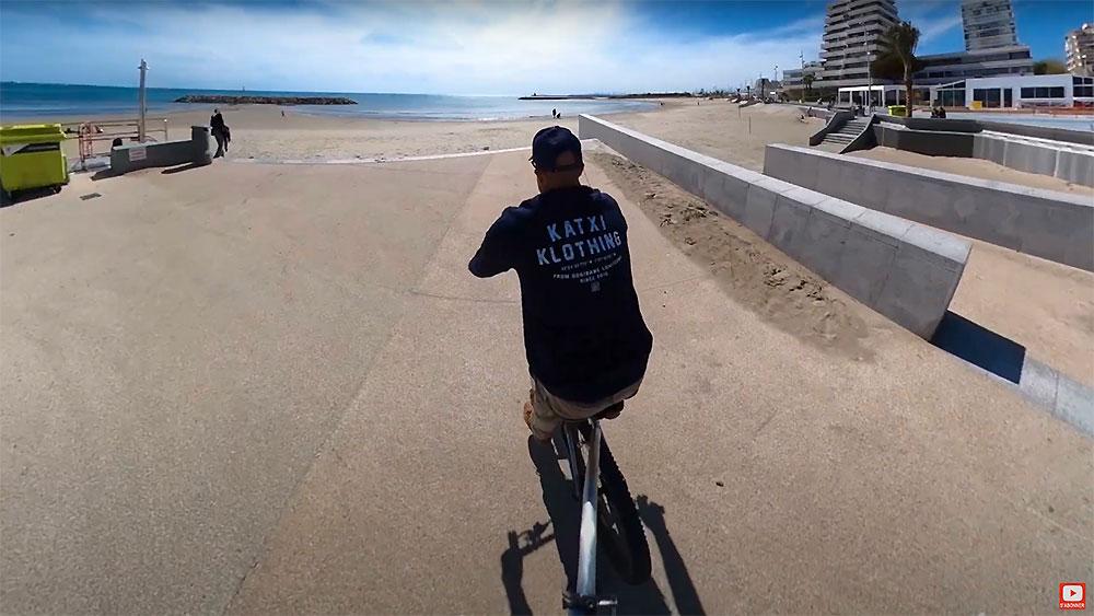 Remorque de vélo TYBOB pour stand up paddle, surf et kayak