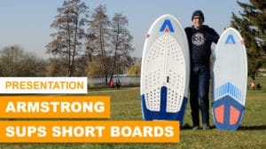 Armstrong Foils Short Boards Wing Sups