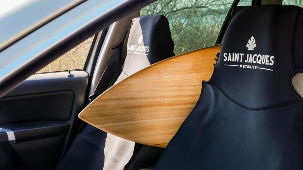 Housse siège auto néoprène St Jacques