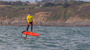 Championnats de France downwind stand up paddle foil