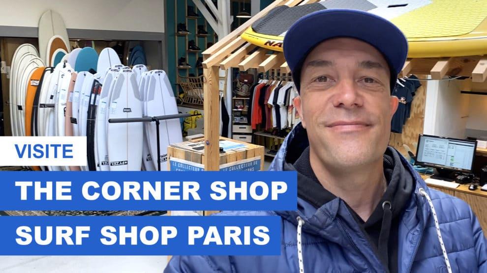 The Corner Shop, surf shop à Paris