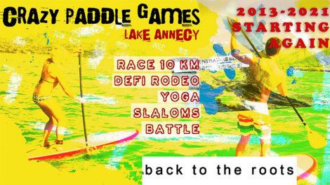 Crazy Paddle Games 2021 à Talloires