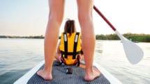 La sécurité en stand up paddle