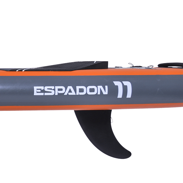 Test paddle gonflable Espadon 11' WattSup