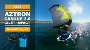Casque et du gilet d'impact Aztron pour le SupFoil