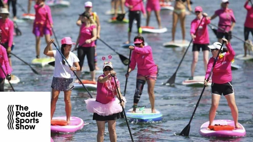 Octobre Rose au Paddle Sport Show