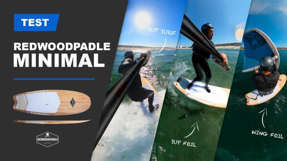 Test paddle surf Minimal de Redwoodpaddle