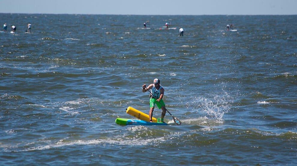 Championnats de France SUP Race milieu maritime